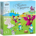 PERSONNAGES A TAMPONNER - CHEVALIERS & DRAGONS