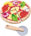 PIZZA A PARTAGER EN BOIS