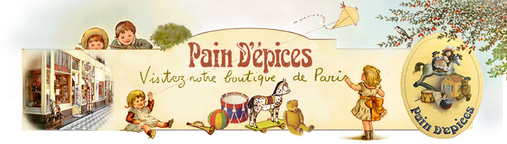 Pain d épices paris - Le charme authentique des jouets traditionnels -  Maisons de poupées 165cacf575f