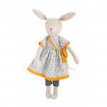 - Peluche Maman lapin rose « Famille Mirabelle »