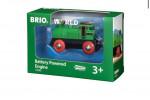 Locomotive à pile bidirectionnelle verte