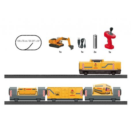 Train de construction junior