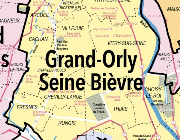 CARTE GRAND PARIS