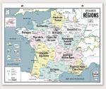 CARTE FRANCE DES REGIONS