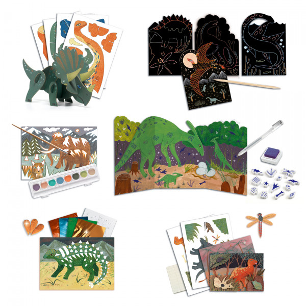 ACTIVITES CREATIVES - DINO BOX