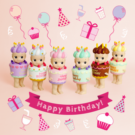 SONNY ANGEL «HAPPY BIRTHDAY»