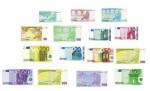 LOT DE 21 BILLETS EURO FACTICE