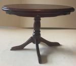 TABLE RONDE BOIS TON MERISIER