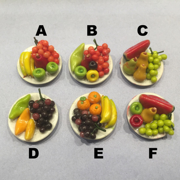 ASSIETTE DE FRUITS 4