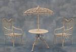 ENSEMBLE TABLE AVEC 2 CHAISES
