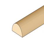BAGUETTE DEMI-RONDE (2X1MM)