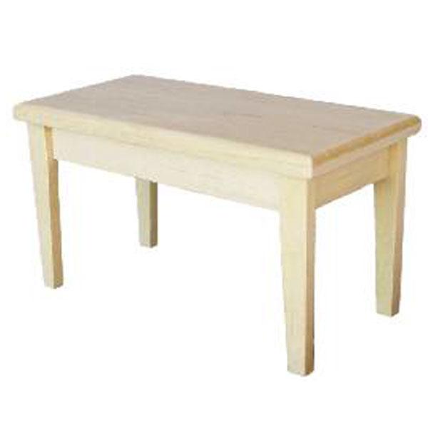 PETITE TABLE EN BOIS BRUT