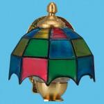 LAMPE ANCIENNE 3,5V TYPE APPLIQUE