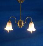 LAMPE SUSPENSION 2 LAMPES 12V