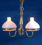 LAMPE SUSPENSION 2 BRANCHES