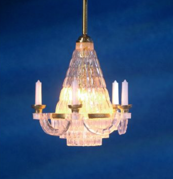 LAMPE CHANDELIER SUSPENSION 12V