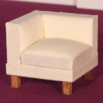 FAUTEUIL ANGLE TISSUS