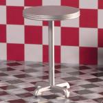 TABLE BAR IMITATION METAL