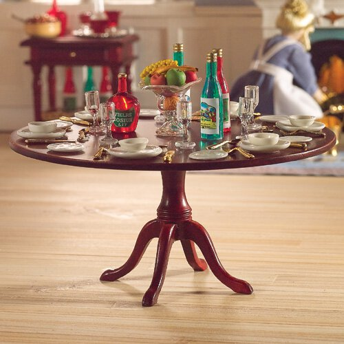 GRANDE TABLE RONDE MERISIER
