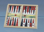 JEU DU BACKGAMMON