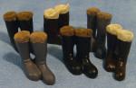 Lot de 6 paires de bottes