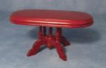 TABLE OVALE EN MERISIER