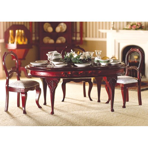 TABLE LUXE MERISIER OVALE