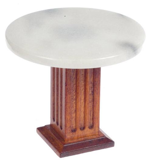 TABLE MODERNE AVEC DESSUS TYPE MARBRE