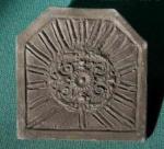 PLAQUE DE CHEMINEE SOLEIL