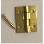 LOT DE 4 CHARNIERES A CLOUS (8x10mm)