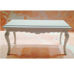 TABLE BASSE BLANCHE