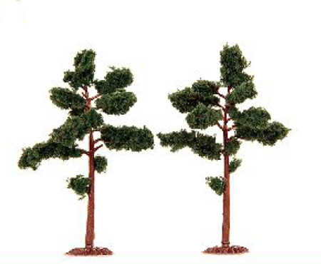2 ARBRES TYPE PIN