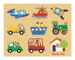 - Puzzle des transports «Les popipop»