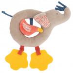 Anneau-Hochet éléphant «Les Papoum»