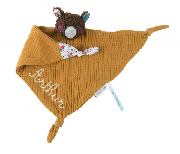 Doudou lange ours/souris «Les Jolis trop beaux»