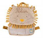 Sac à dos lion ou éléphant «Sous mon baobab»