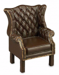 FAUTEUIL TYPE CHIPPENDALE