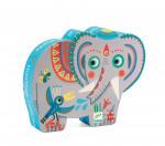 PUZZLE - L'ELEPHANT D'ASIE