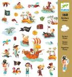 160 STICKERS - PIRATES