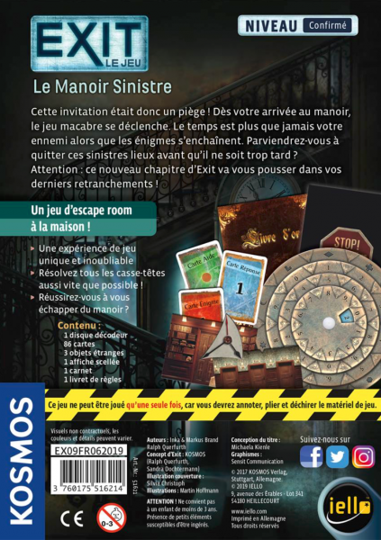 EXIT - LE MANOIR SINISTRE